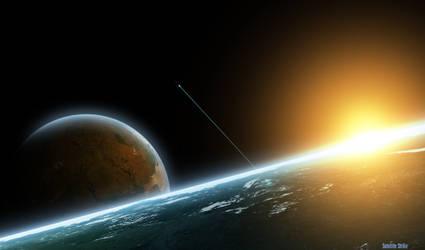 Satellite Strike by Jason9811