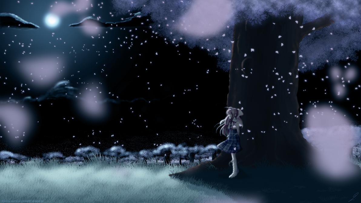 In the Sakura Fields by Jason9811