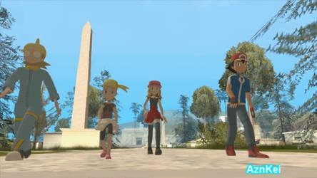 GTA San Andreas: Pokemon Serena, XY Grove gang