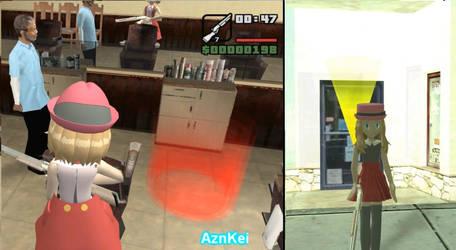 GTA San Andreas: Pokemon Serena, Barber Shop