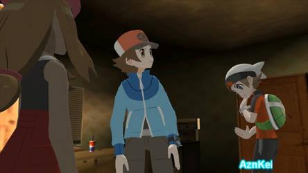 GTA San Andreas: Pokemon Serena, Hilbert + Brendan