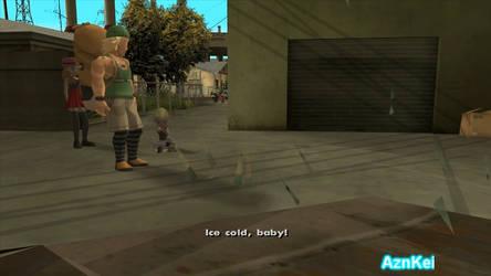 GTA San Andreas: Pokemon Serena, Bonnie Shooting