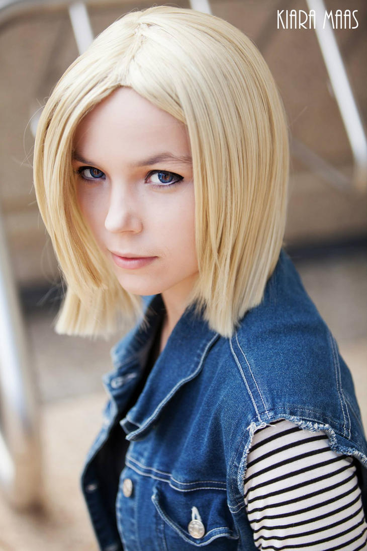 Android 18~ by Izzybella4