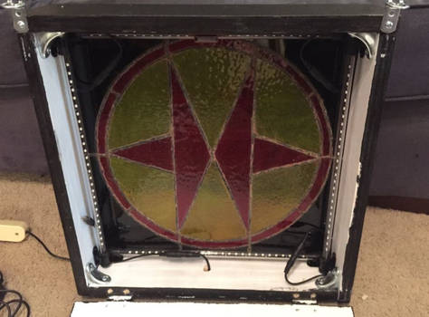 Exosquad Stained Glass Lamp 3