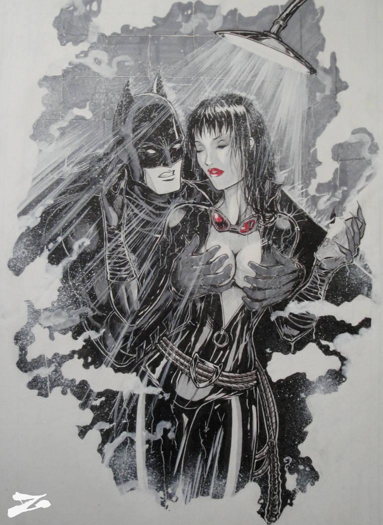 Batman Catwoman Shower