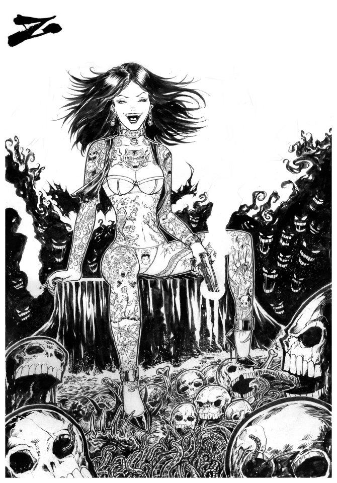 Suicide Chik by Zuleta