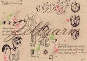 My Little Anatomic Pony - My Little Pony by Zellgarm