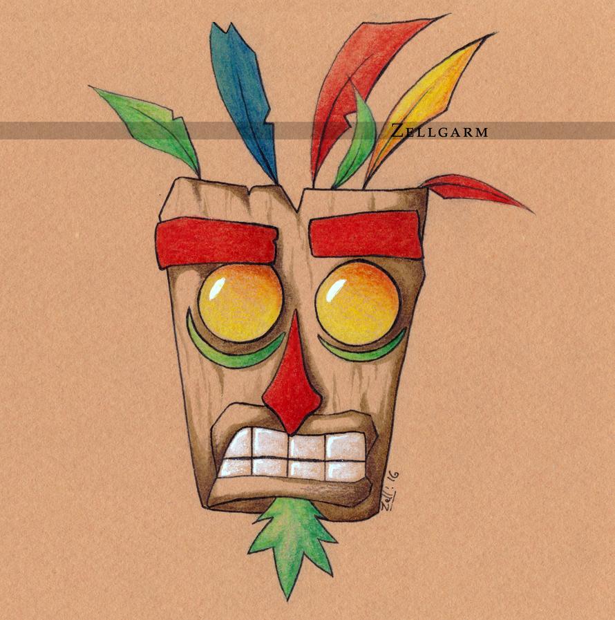 Crash Bandicoot Mask 77