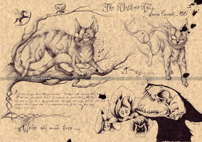 Cheshire Cat - Lewis Carroll by Zellgarm