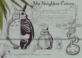 Totoro - My Neighbor Totoro by Zellgarm