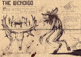 Wendigo by Zellgarm