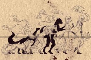 THE KITSUNE (1) by Zellgarm