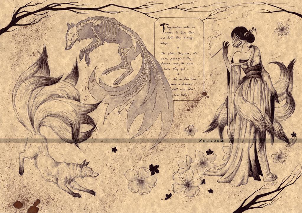 Bestiaire du forum The_kitsune__2__by_zellgarm-dawzrqo