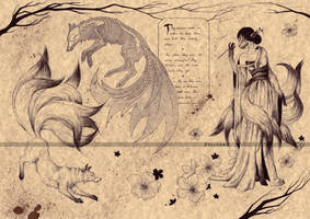 THE KITSUNE (2) by Zellgarm