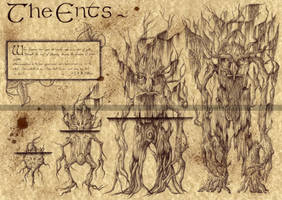 The Ents - Lord of the Rings