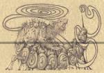 PESTILENCE - HORSEMEN OF THE APOCALYPSE by Zellgarm
