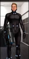 Gantz Cosplay Artwork by Bomu