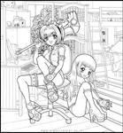 Card Captor Sakura and Tomoyo