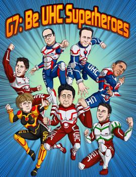 G7 Manga World Leaders Cover