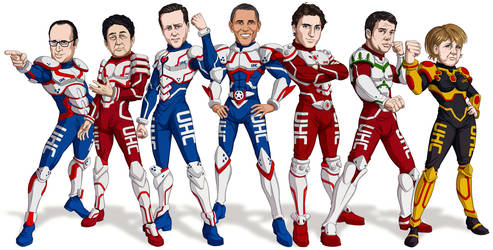 G7 Manga World Leaders
