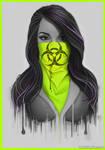 Masked Girl - Green