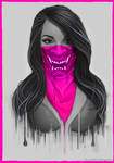 Maked Girl - Pink