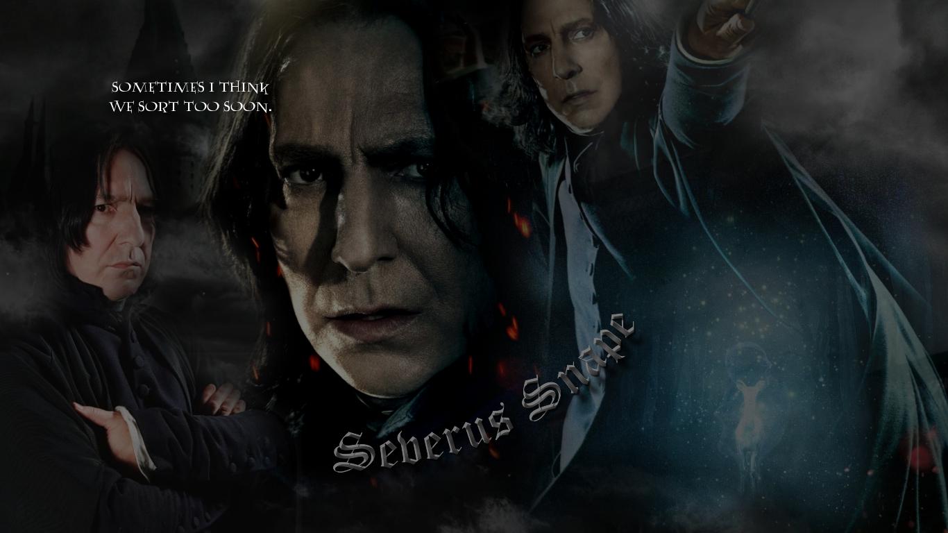 Snape Wallpaper By Kvclinesmith On Deviantart