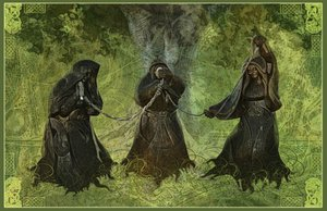 The Norns by EarthyBeginnings