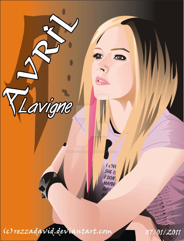 Avril Lavigne--- by RezzaVANdaviD