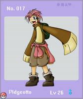 Pokemon Gijinka: Pidgeotto by keiVu