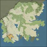 Blank Map of Kalayaan