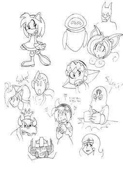 Random Sketchdump