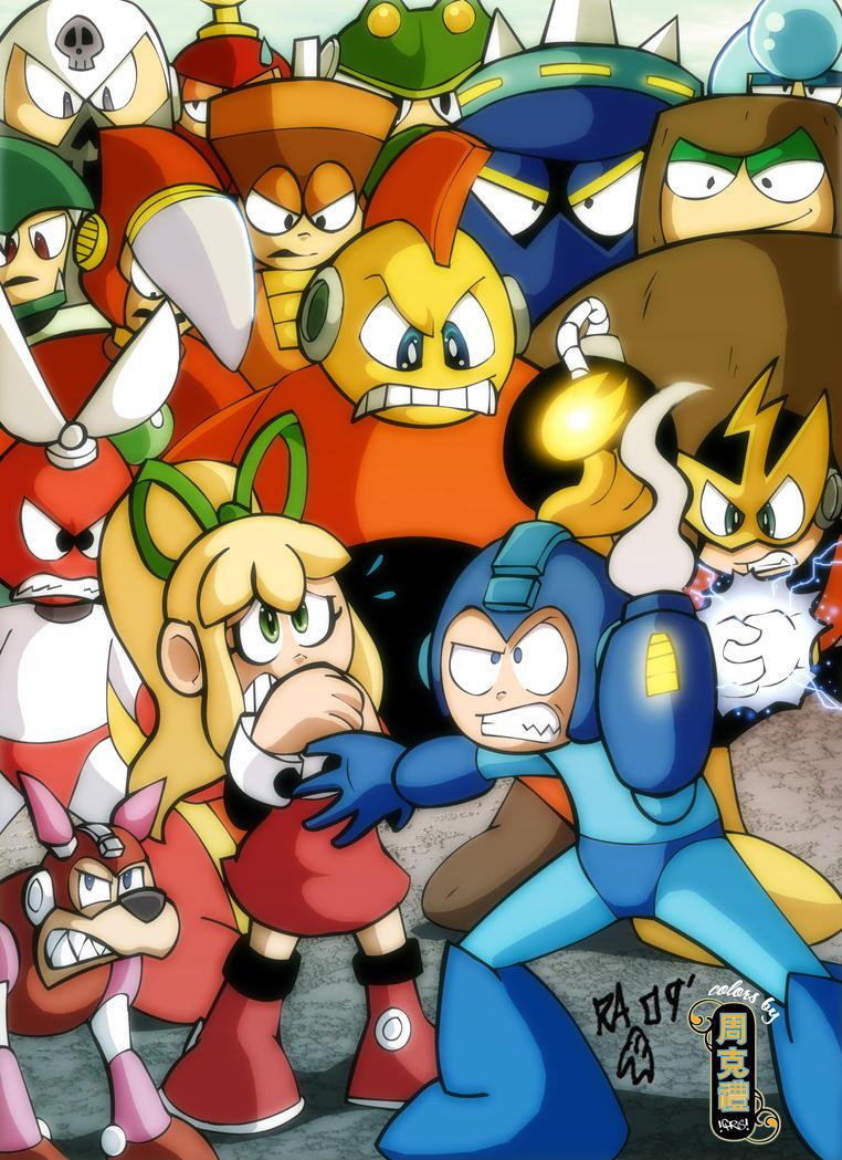 Mega Man Oni-Con Print by Pembroke