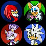 Sonic Button Set 2 by Pembroke