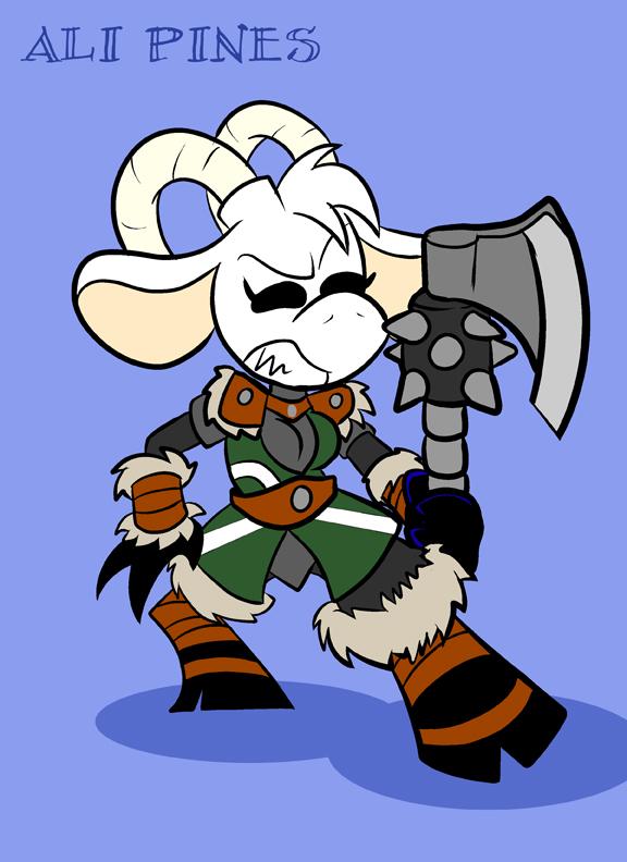 Viking Ali by Pembroke