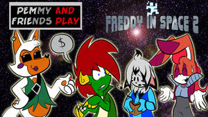 Pemmy and Friends Play Freddy In Space 2