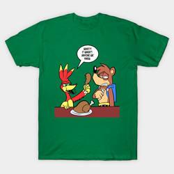 Banjo Kazooie Thankgiving T-Shirt!