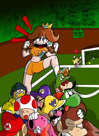Mario/Peach, Luigi/Daisy