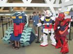Otakon 2010 Gundam Gang