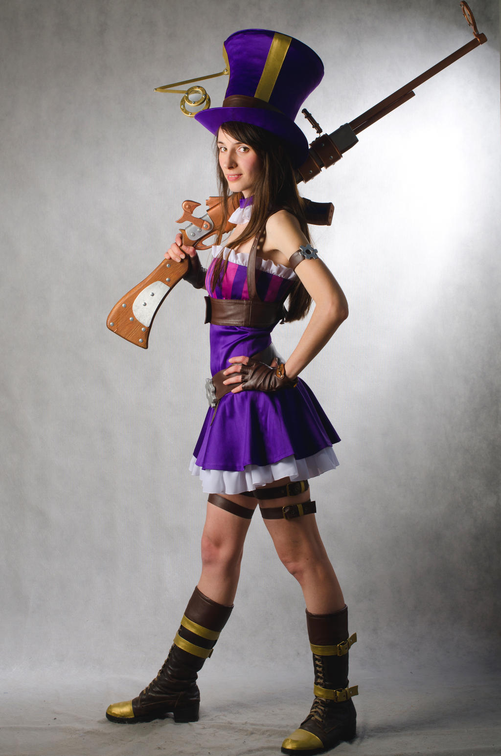 caitlyn reference - Cosplays