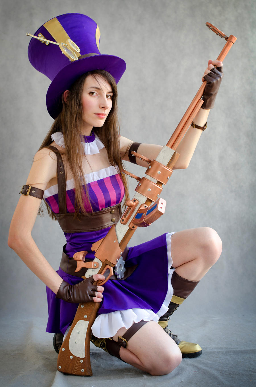 Caitlyn cosplay league of legends by eiphen