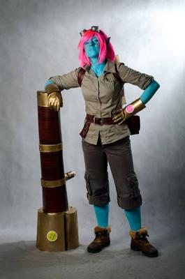Tristana (cosplay League of Legends)