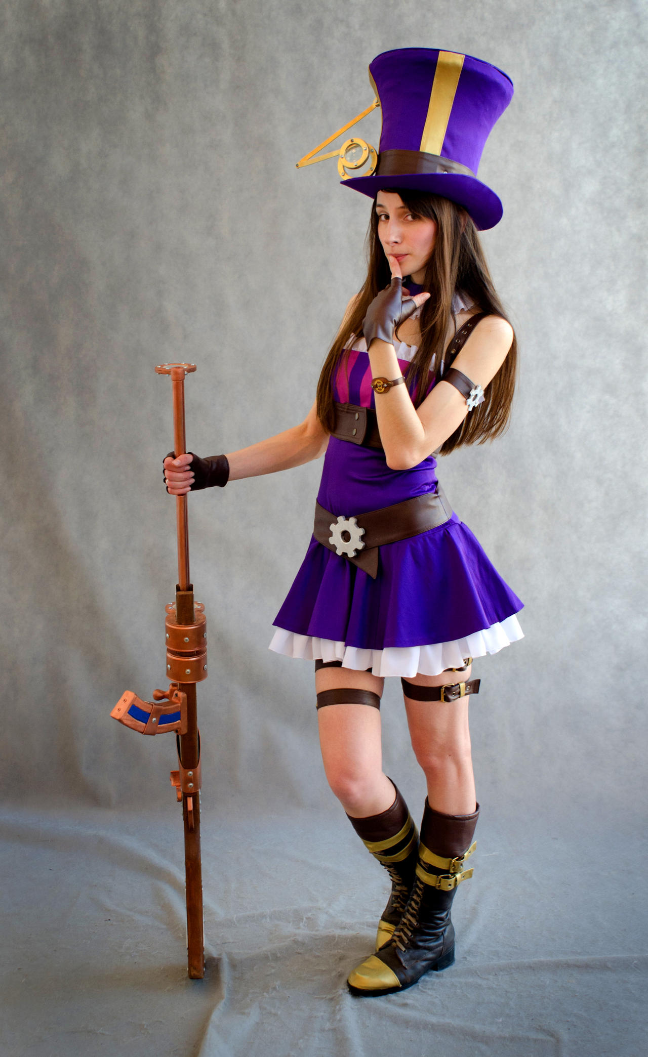 Caitlyn (cosplay League of Legends) by eiphen