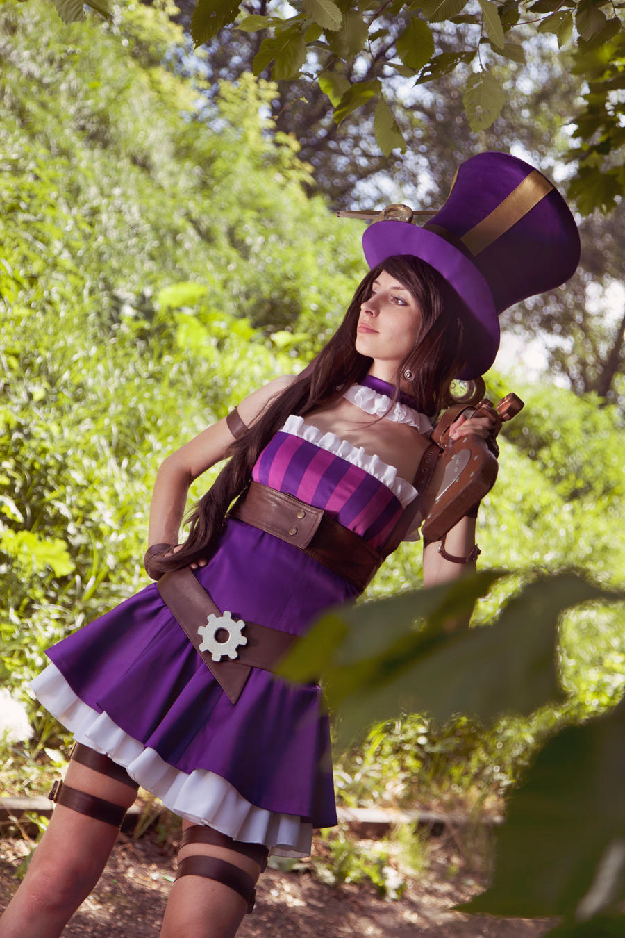 Caitlyn (cosplay League of Legends) by eiphen on DeviantArt