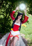 Ahri (cosplay League of Legends)