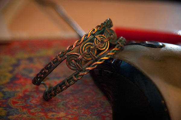Bracelet, blue patina again. by eiphen