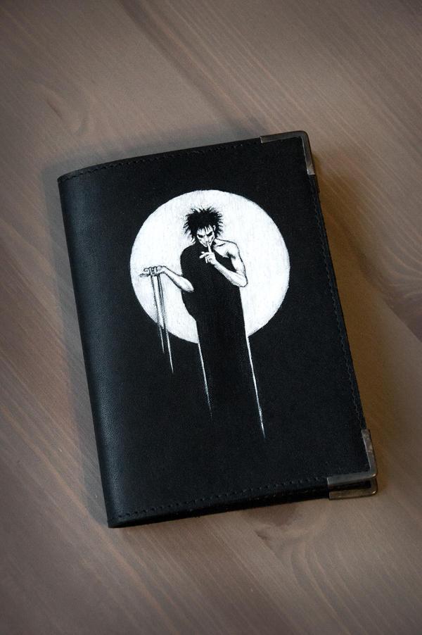 Passport cover Sandman by eiphen