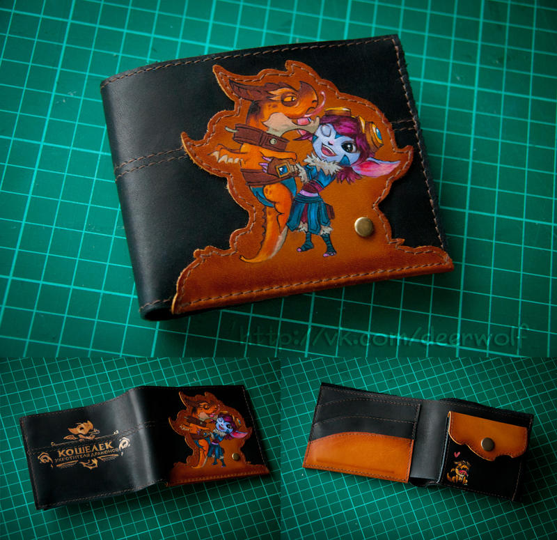 Dragon Trainer Tristana wallet by eiphen