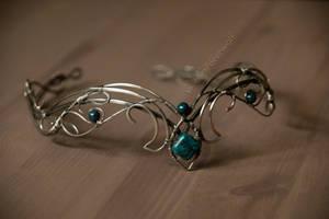 Elvish wedding tiara by eiphen
