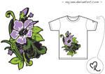 Hibiskus - T-Shirt Color